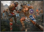 For Honor, Samuraj Shinobi, Gladiator, Walka