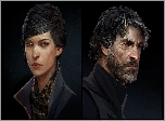 Dishonored 2, Postacie, Emily Kaldwin, Corvo Attano