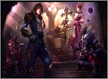 Gry, League of Legends, Postacie, As Pik, Ezreal, Mordekaiser, Syndra, Joker Shaco
