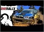 Richard Burns Rally, impreza, subaru, samochód, grafika