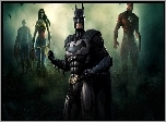 Injustice God Amoug Us, Batman, Flash, Wonder Woman