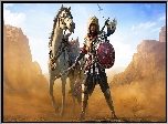Assassins Creed Origins Roman Centurion Pack, DLC, Dodatek, Bayek, Koń