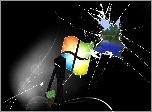 Minecraft, Enderman, Dziura, Windows, Logo