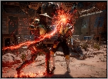 Mortal Kombat 11, Raiden, Scorpion, Walka