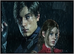 Gra, Resident Evil 2, Leon S Kennedy, Claire Redfield