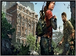 Gra, The Last of Us, Ellie, Josh