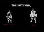The Witcher, szkic, postacie