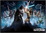 Star Wars: Galaxy of Heroes, Luke Skywalker, Darth Vader, Walka