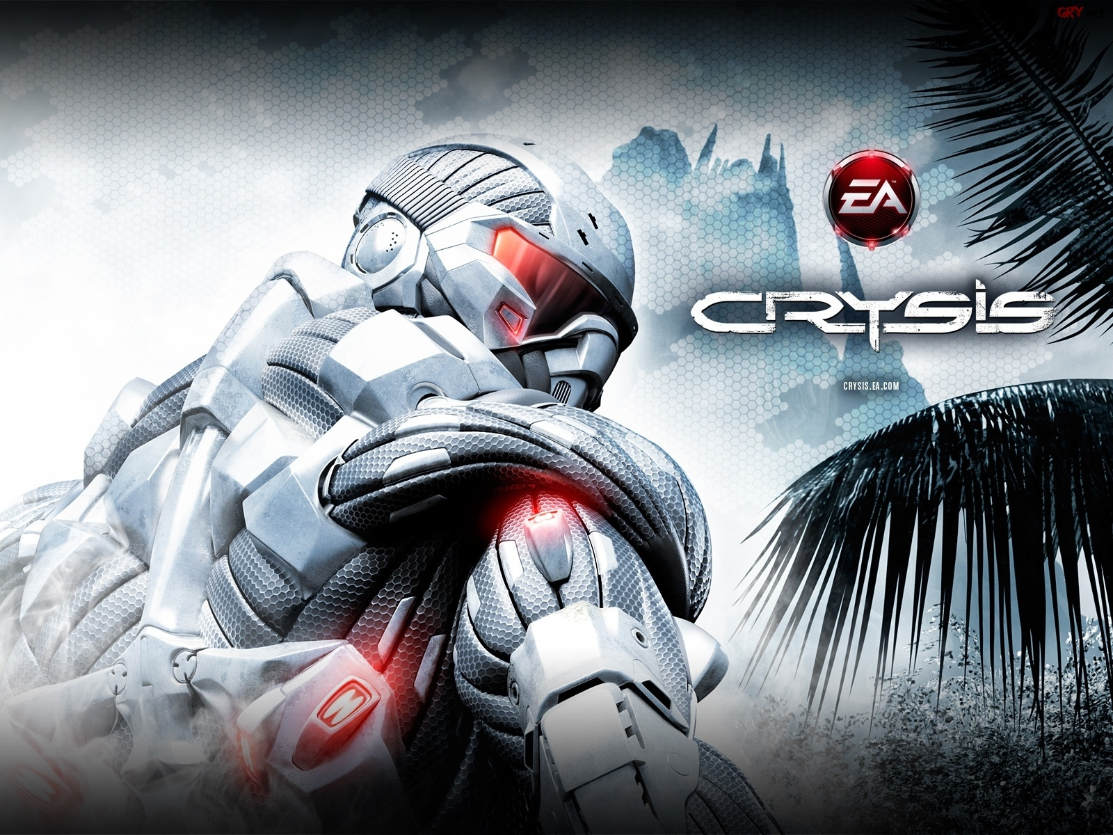 Screen, Crysis, Wojownik