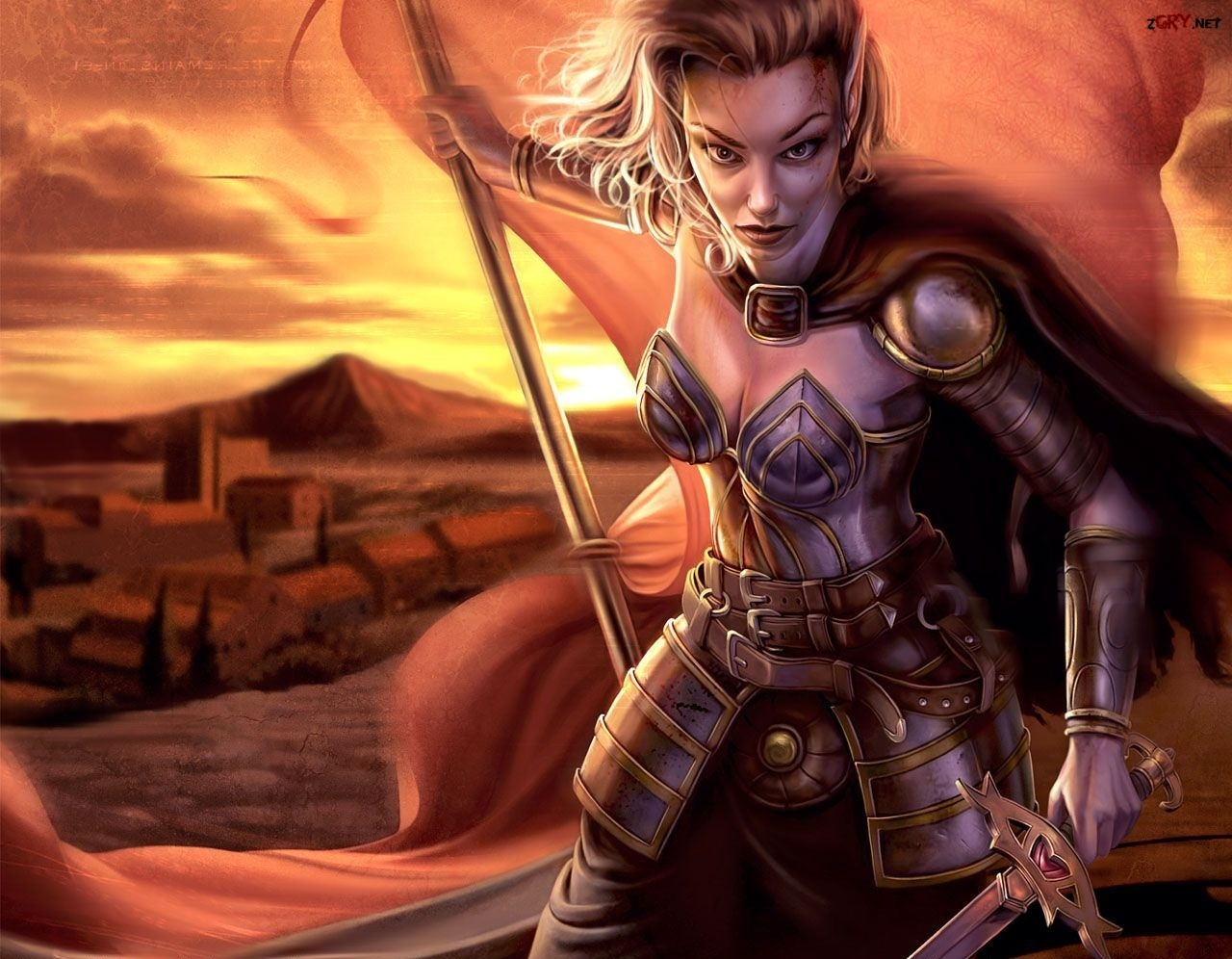 Gra, Neverwinter Nights, Wojowniczka, Lady Aribeth de Tylmarande